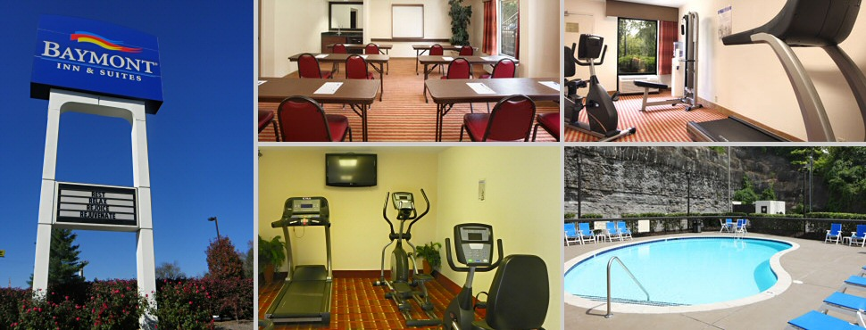 Baymont Inns Fitness Room and Pool