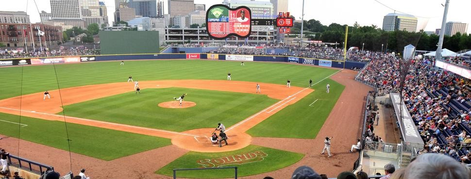 nashville sounds baseball slide