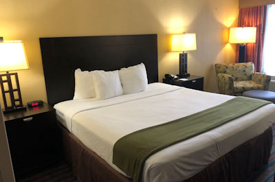 Kings Size Room at Baymont Inn and Suites in Nashville, TN